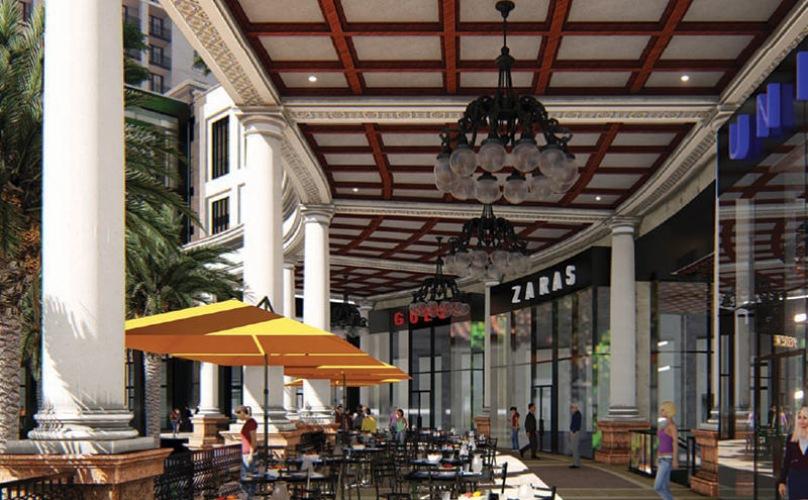 The Plaza neighborhood shops and eateries